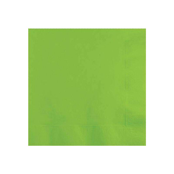 Lime Green Disposable Paper Wedding Cocktail Napkins