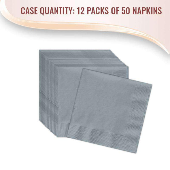 Sterling Silver Paper Cocktail Napkins