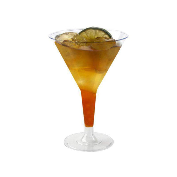 Clear Disposable Plastic Wedding Martini Glasses
