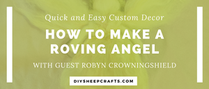 How to Make a Roving Angel | home decor, crafts, diy, tutorial