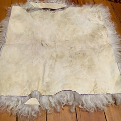 DIY Sheep Crafts | How to Make a Sheepskin Pillow | diysheepcrafts.com