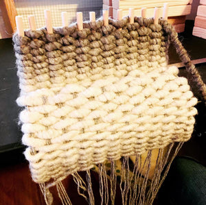 Learn to Peg Loom Weave with the Craft Box by DIY Sheep Crafts