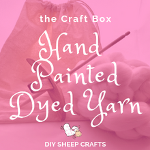 Learn How to Acid Dye Wool Yarn with the Handpainted Acid Dye Craft Box by DIY Sheep Crafts