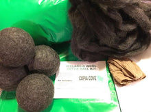 Felted Wool Dryer Balls DIY Kit for Laundry