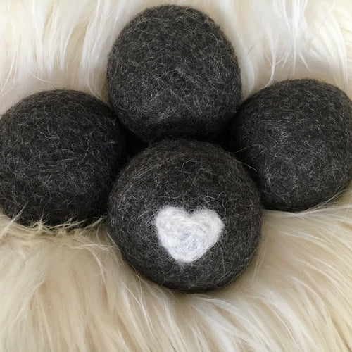 Wool Dryer Balls for Laundry - all natural dryer sheets and wrinkle fighters