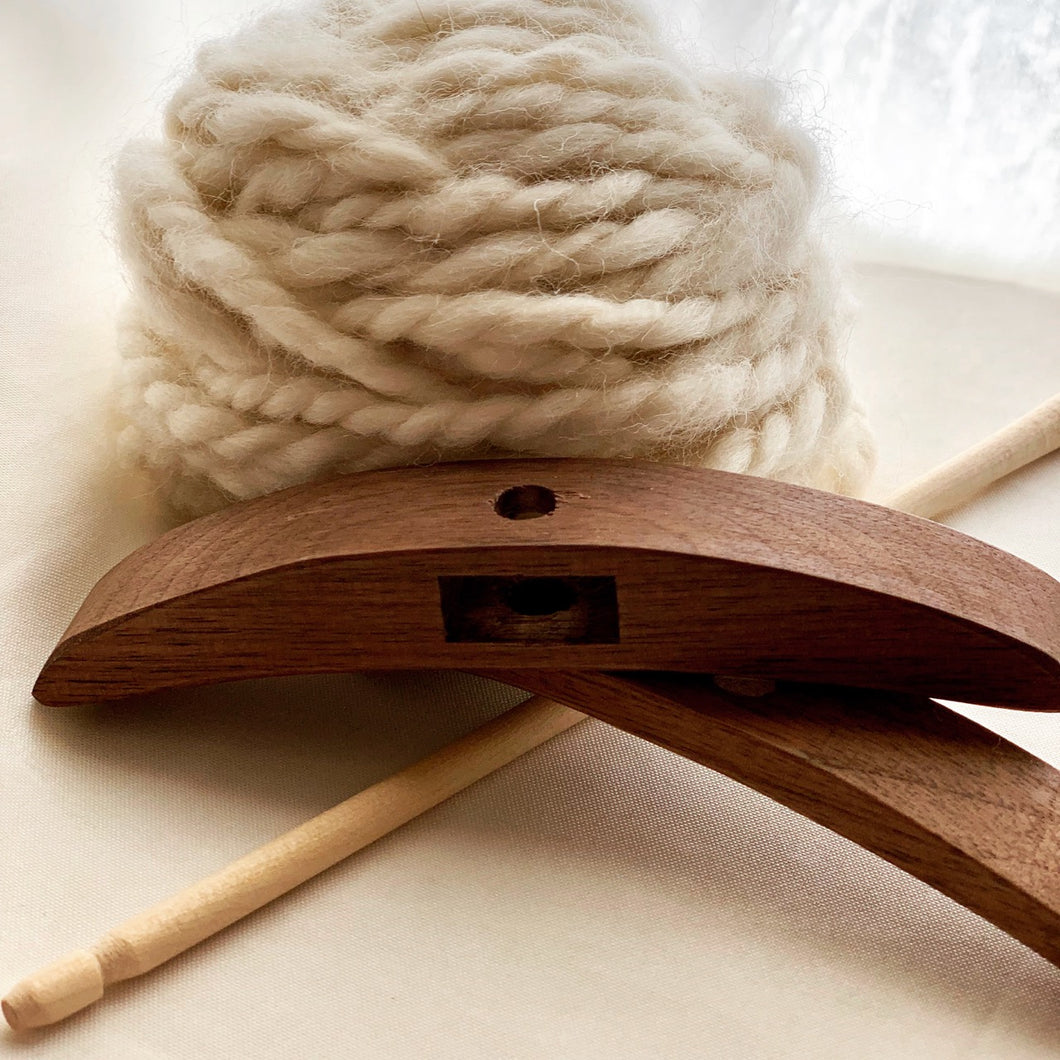 Learn How to Spin Yarn on the Turkish Drop Spindle with the Craft Box by DIY Sheep Crafts