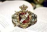 Coat of Arms Cuff Bracelet