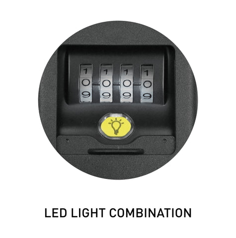 LED Lighted Key Lock Box