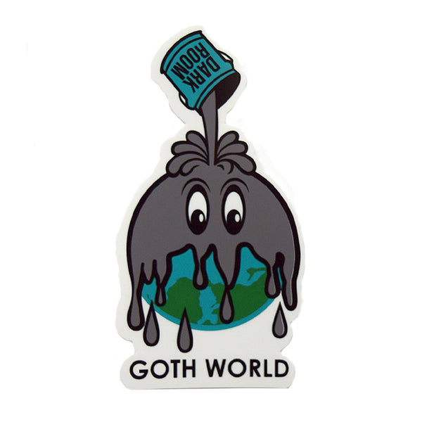 Goth World Sticker