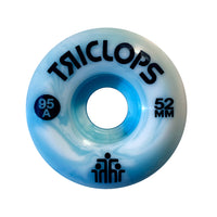 Triclops Blue Marbles Wheels, 52 MM, 95 A