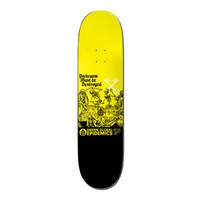"Epidemic: Black Death Skateboard Deck (8.5"")"