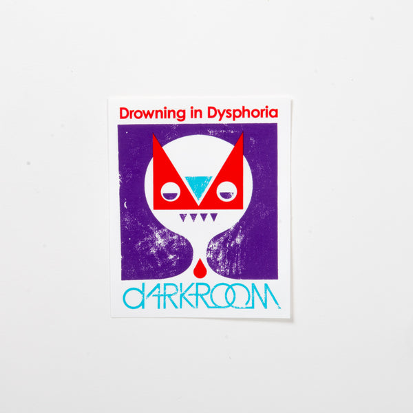 Dysphoria Sticker
