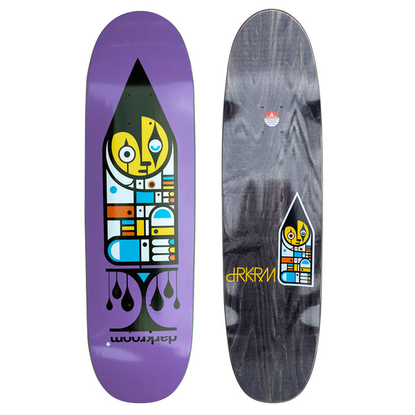 Harlequin Skateboard Deck, 8.75""