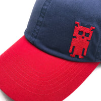 Washed Invader Twill Cap