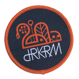 OG Round DRKRM Patch