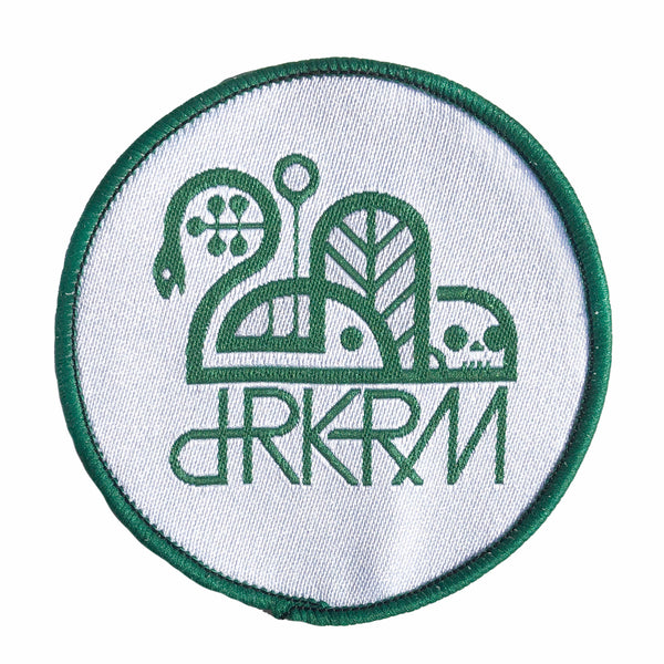 OG Round Woven Patch 2.5""