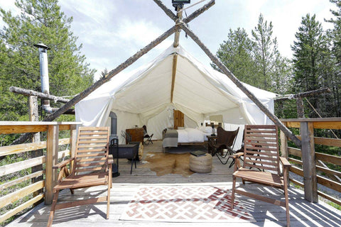 Capitol Reef Utah Glamping United Stated South Dakota Under Canvas Mount Rushmore Deluxe