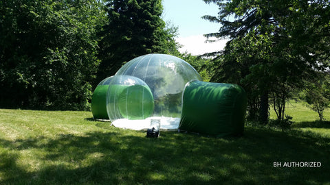 Image of Bubble Huts - Double Bubble Lodge 16ft + 10ft Second Room