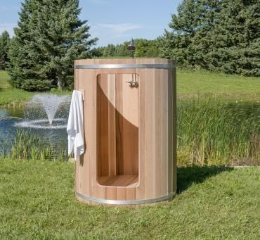 Image of Dundalk Outdoor Barrel shower