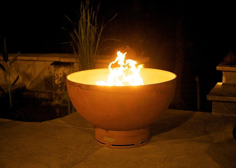 Image of Fire Pit Art - Crater