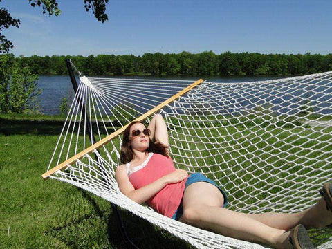 Universal Hammocks - Double Cotton Rope Hammock