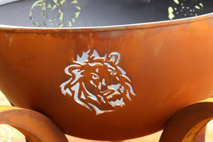 Fire Pit Art - Africa's Big Five
