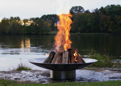Image of Fire Pit Art - Bella Vista 70'' Stainless Steel