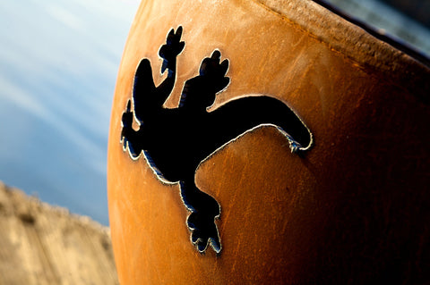Fire Pit Art - Kokopelli