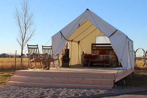 Image of Montana Canvas - Luxury Glamping Tent