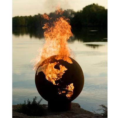 Image of Fire Pit Art - Third Rock