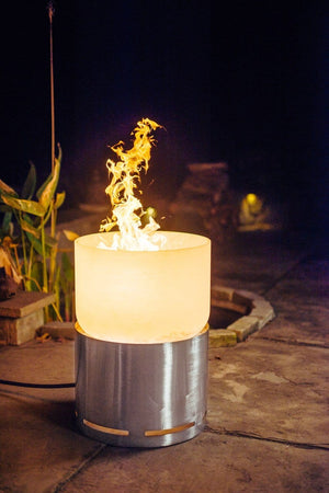 Fire Pit Art - Crystal Tower 28'' Tall