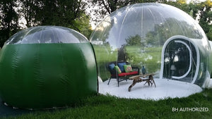 Bubble Huts - Double Bubble Lodge 16ft + 10ft Second Room