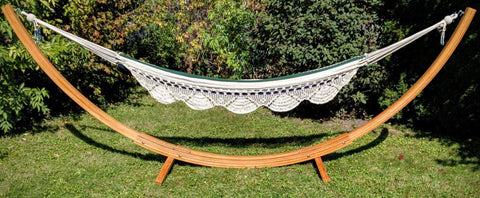 Image of Universal Hammocks Bamboo Hammock Stand - Eco-Friendly XL