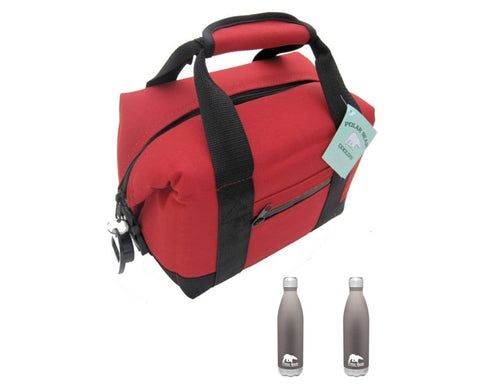 Image of Polar Bear Nylon Soft Cooler + 2x 26oz Flask - 10% OFF BUNDLE