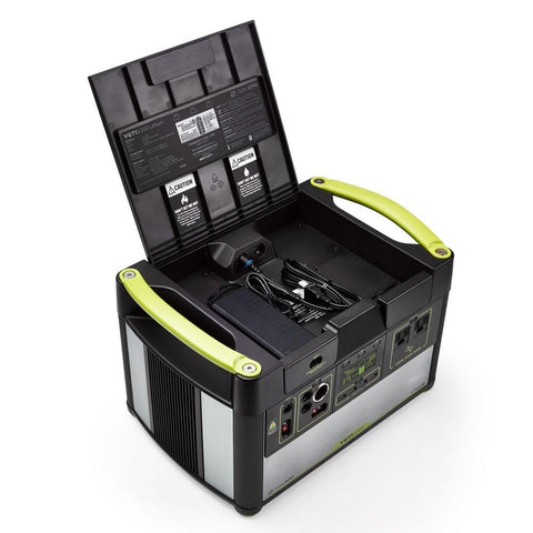 Image of GOAL ZERO YETI 1000 LITHIUM POWER STATION + BOULDER 100 SOLAR KIT