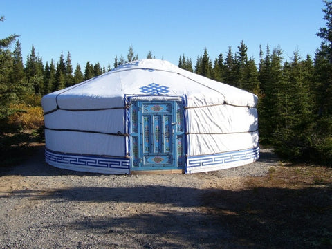 "Groovy ""5 Walls"" – 19′ DIY Yurt Kit"