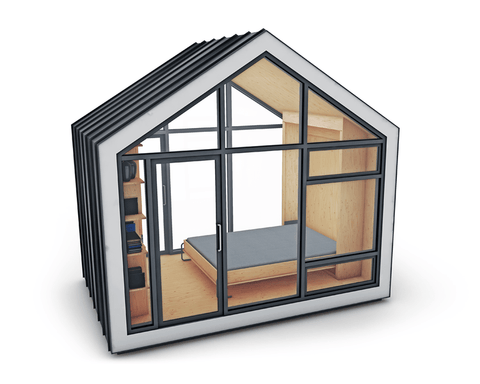 Image of The Bunkie Monarch Camping Pod