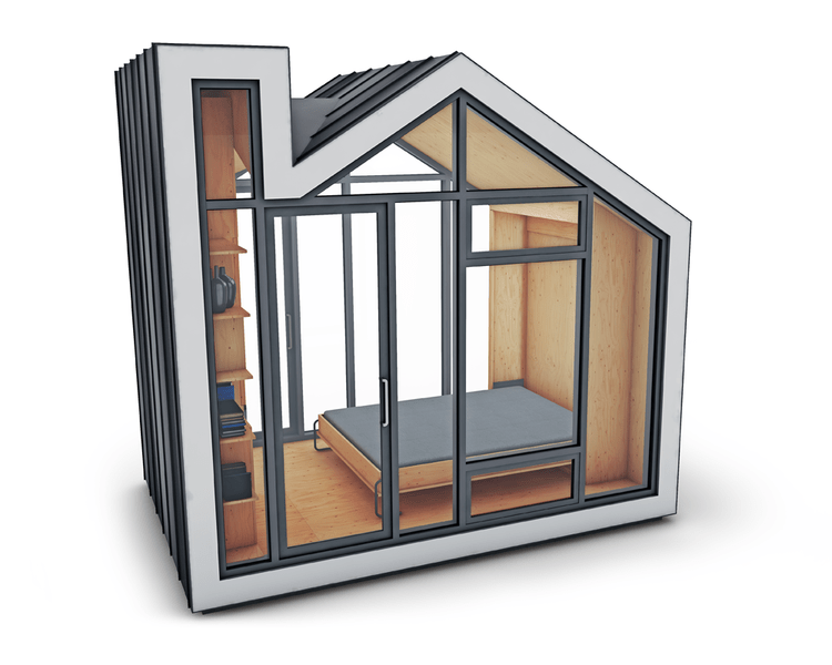The Bunkie Premier Camping Pod