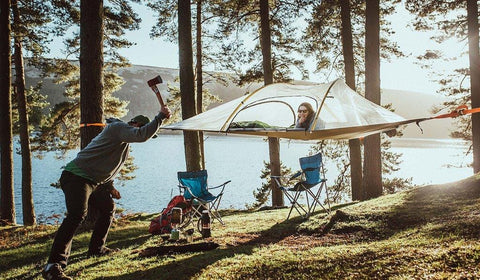Image of Tentsile Safari Stringray Tree Tent