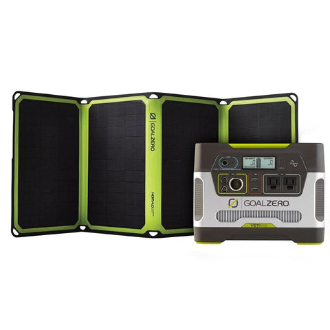 Image of Goal Zero Yeti 400 Power Station + Nomad 28 Plus Solar Kit