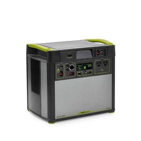 Image of Goal Zero Yeti 3000 Lithium Portable Power Station with WiFi