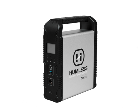 Image of Humless GO 200 Portable Generator