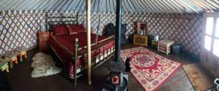 "Image of Groovy ""5 Walls"" – 19′ DIY Yurt Kit"
