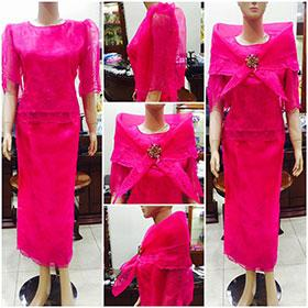 Filipiniana Dress - Simpal Boutique