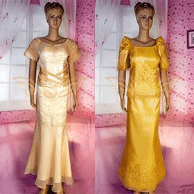 Filipiniana Gown - Simpal Boutique
