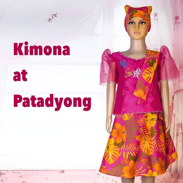 Kimona at Patadyong - kids - Simpal Boutique
