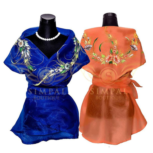Filipiniana Wrap Around - Simpal Boutique