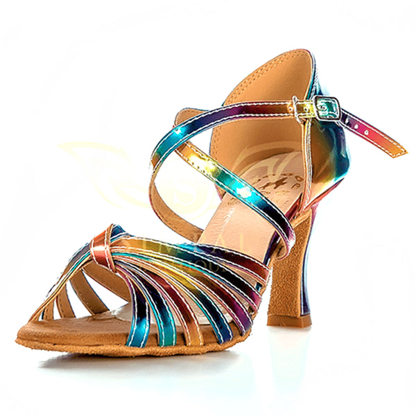 Help Me Dance - Dancing Shoe Salsa Latin Leather Female - KVE-3061184 - Simpal Boutique