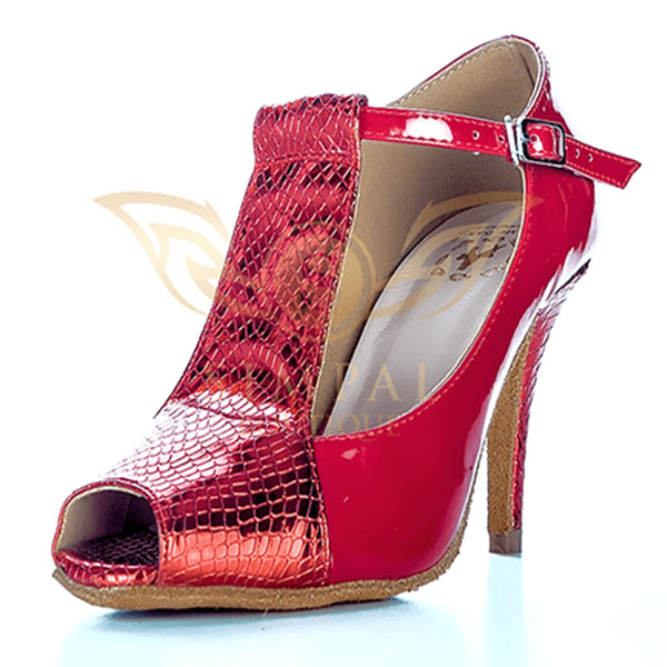 Help Me Dance - Dancing Shoe Latin Salsa Leather Female - KVE-6066108 - Simpal Boutique