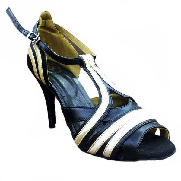 Help Me Dance Dancing Shoe Latin/Salsa Dace Shoes for Ladies Leather Female - KVE-30061N - Simpal Boutique